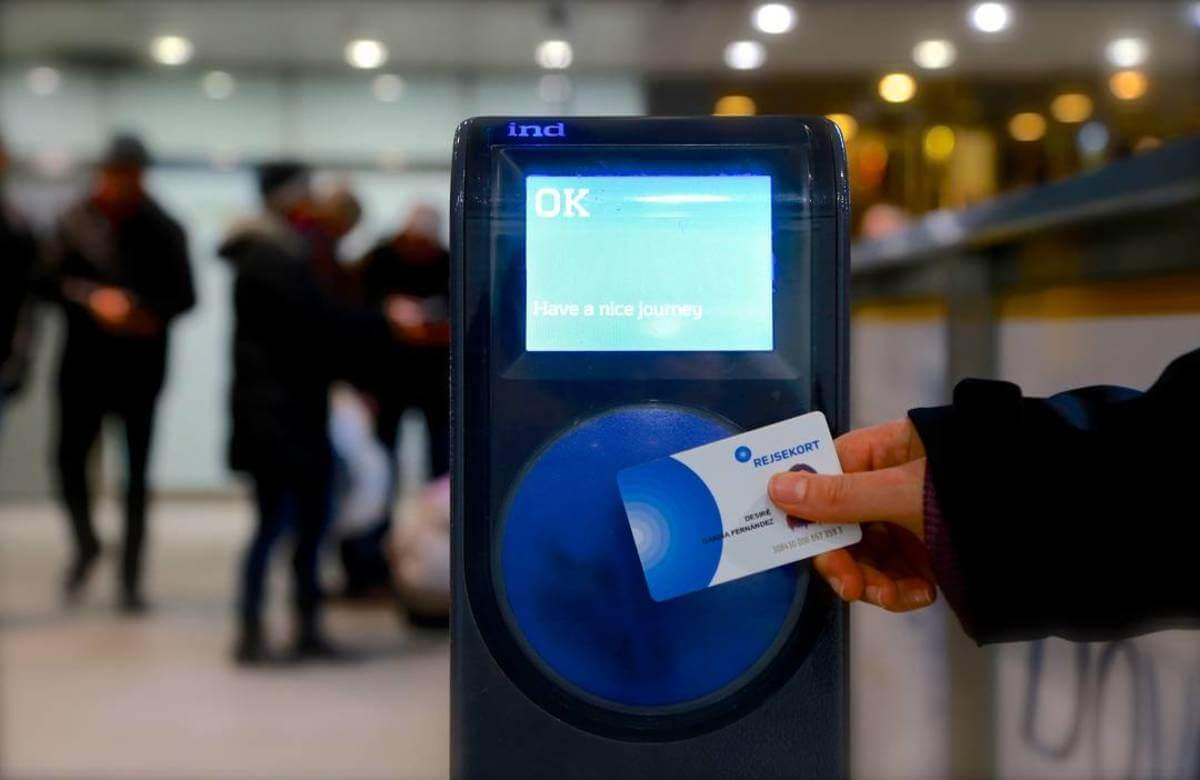 Štúdium v Dánsku - karta na cestovanie Rejsekort
