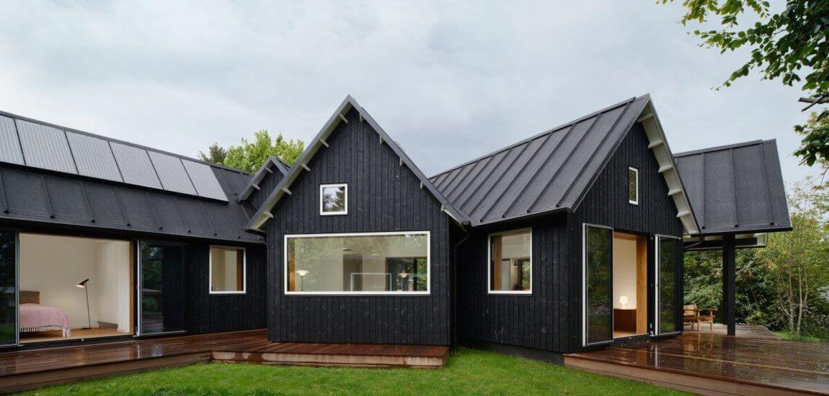 Štúdium v Dánsku - Typický dánsky dom bez záclon