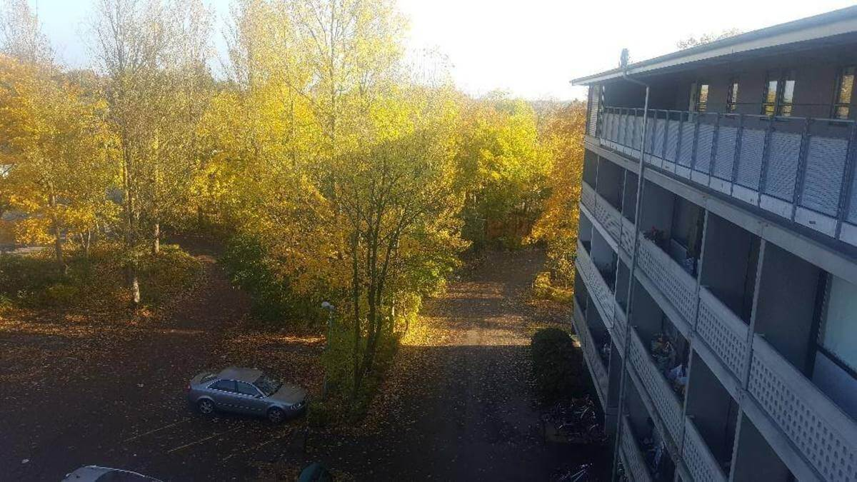 Štúdium v Dánsku - Výhľad z ubytovania
