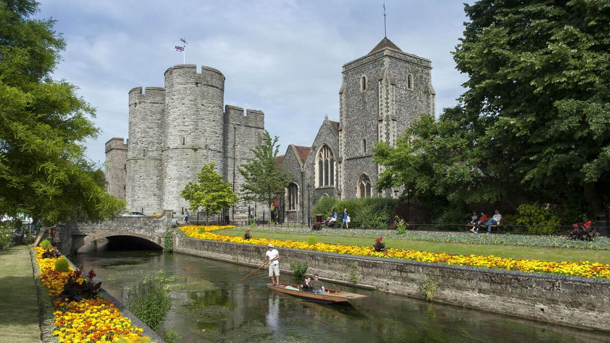 Štúdium v Anglicku - Canterbury