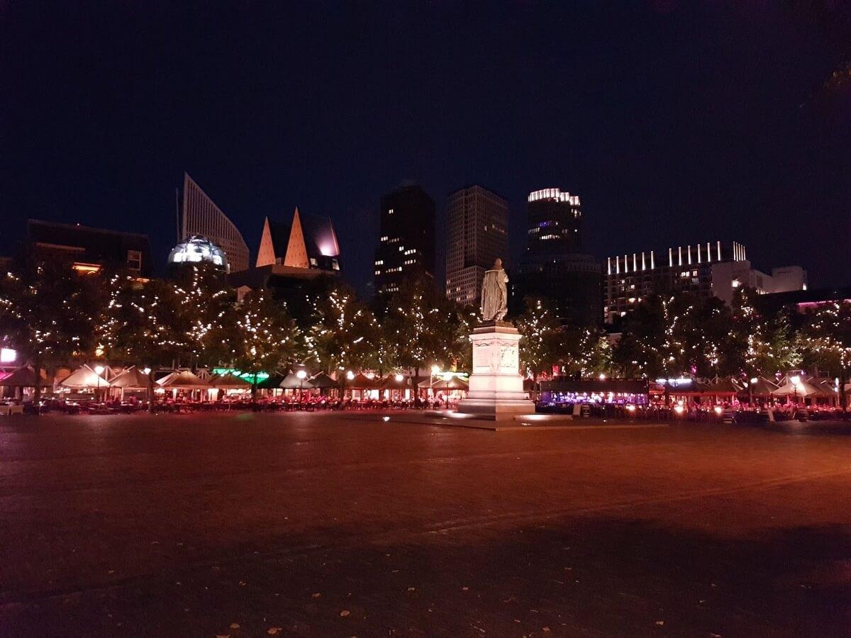 Štúdium v Holandsku, úvodný týždeň, nočný Haag