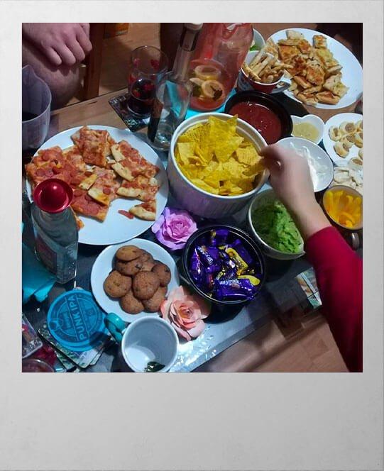 Party po vyučku, štúdium v zahraničí