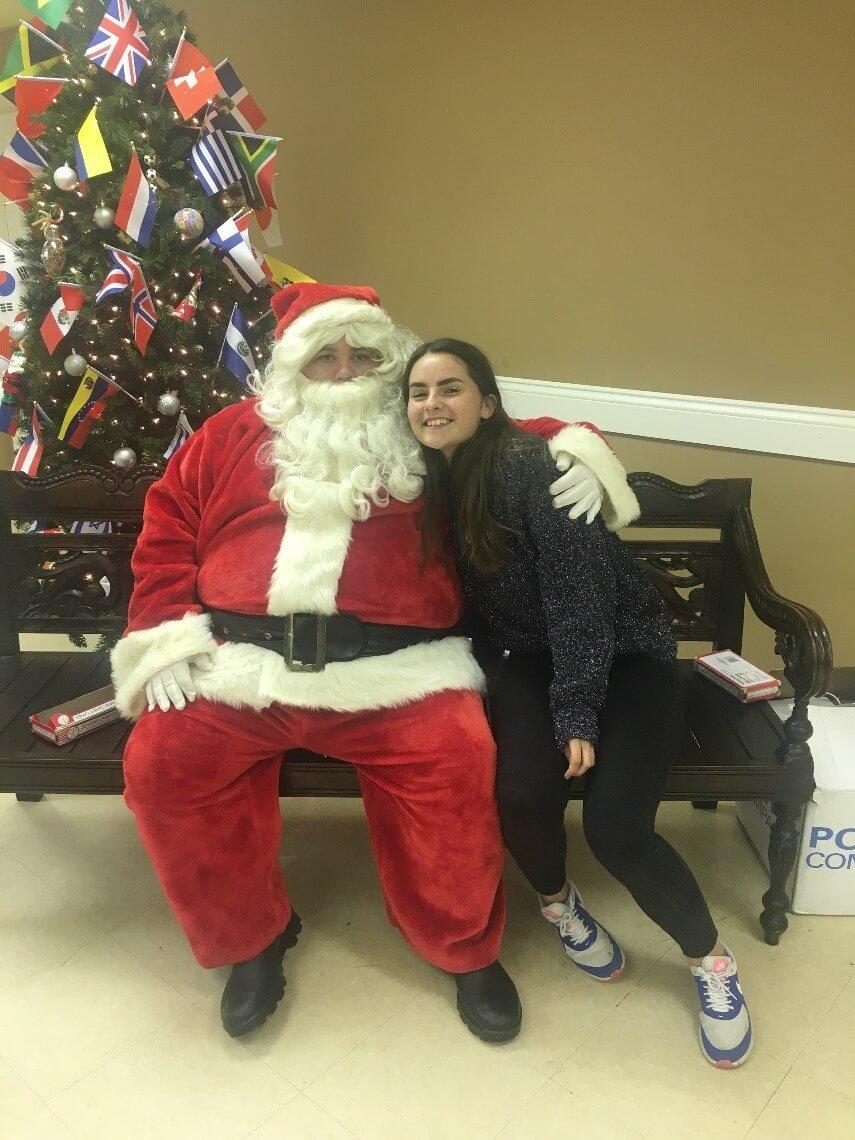 Vianočné darčeky v USA nosí Santa