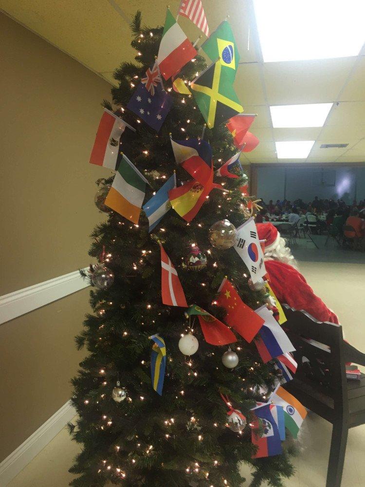 Vianočný stromček na večierku