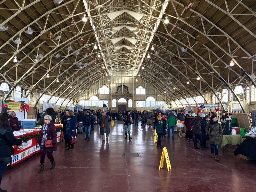 Vianočné trhy - Ottawa - Kanada