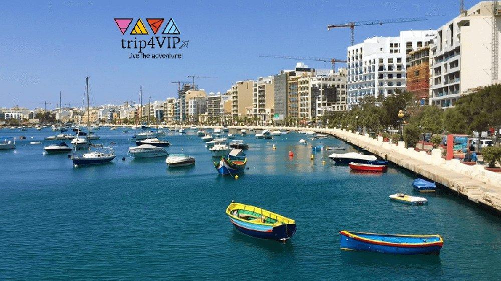 Jazykovy pobyt na Malte, vylet do valetty