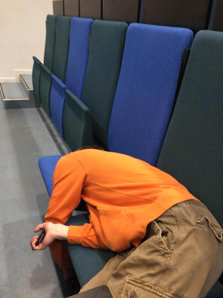 Unava pocas prednasok na vysokej skole v Dansku