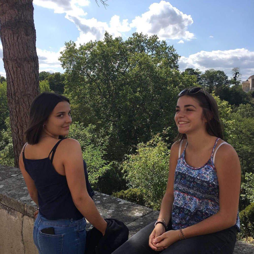 Femmes počas výmenného pobytu vo Francúzsku