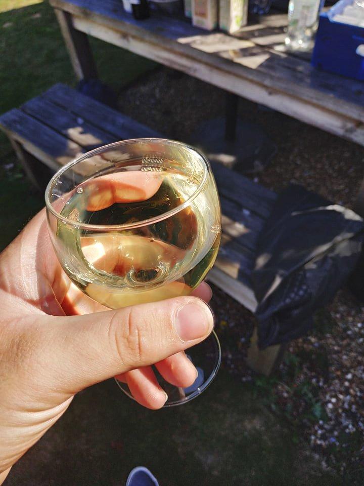 Freshers fayre víno CCCU