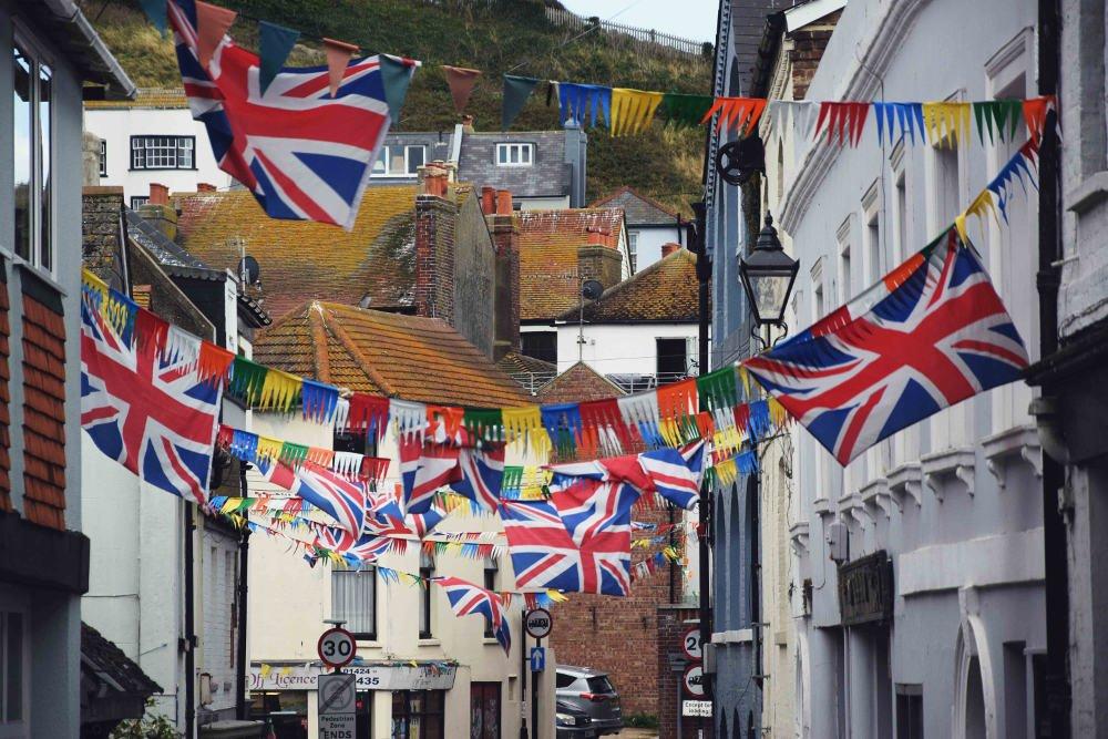 Vlajky Veľká Británia
