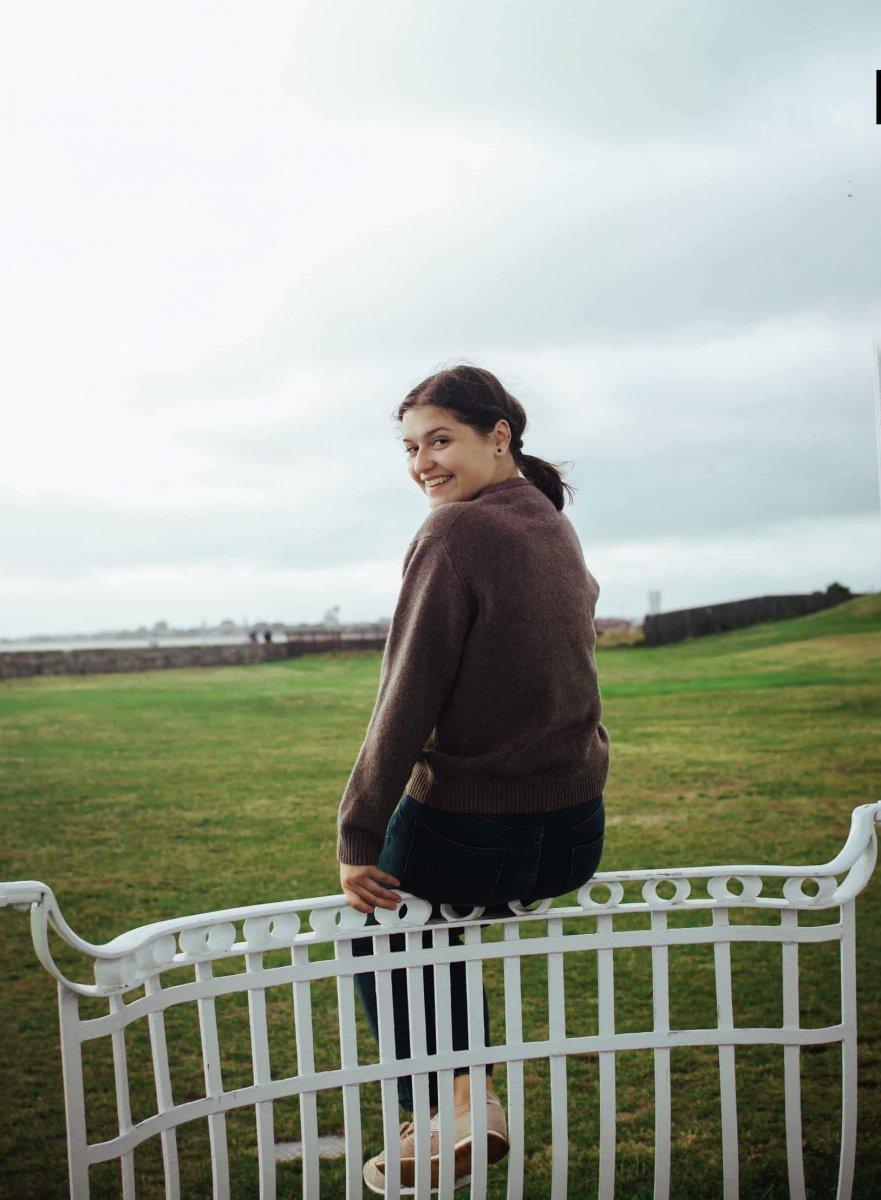 Spokojná Lenka, štúdium v UK