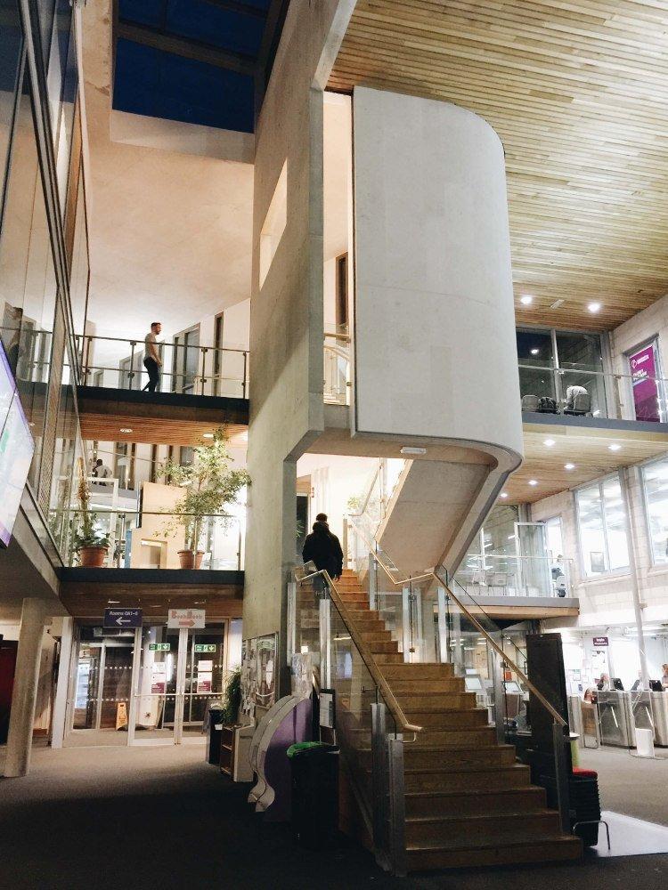 Vybavenie a priestory University of Portsmouth