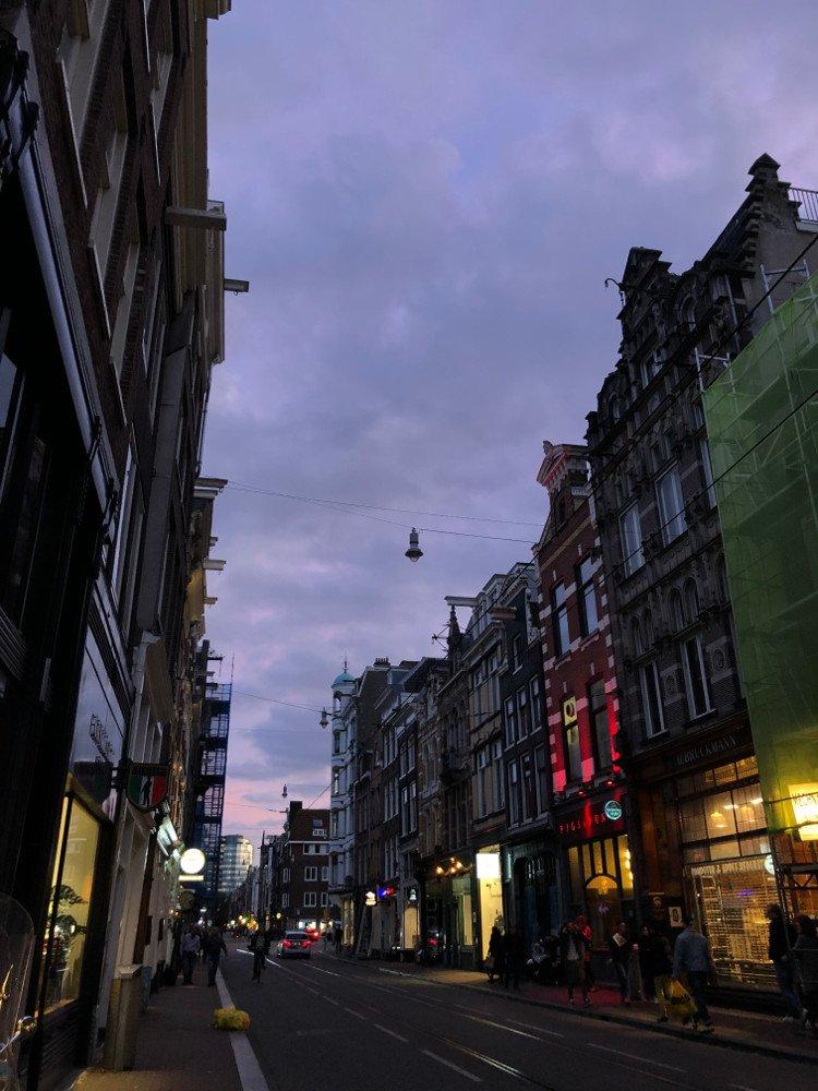 Deventer, štúdium v Holandsku