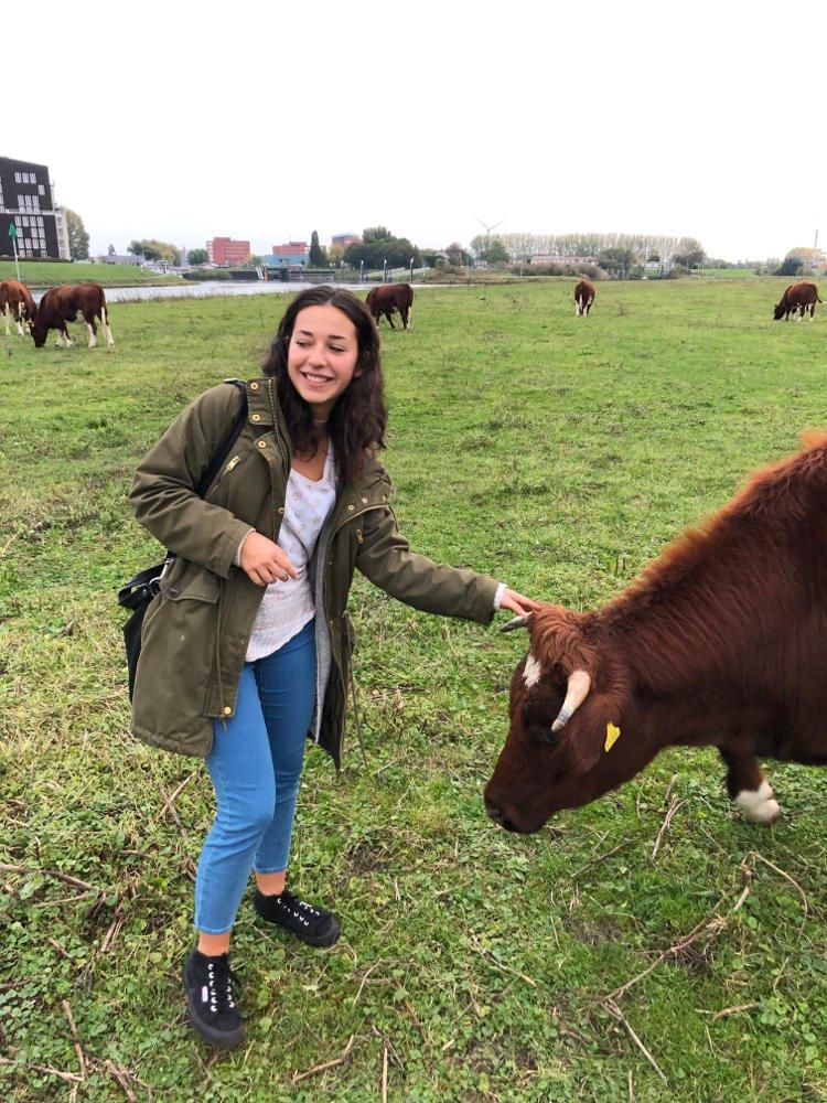 Kristína v Holandsku