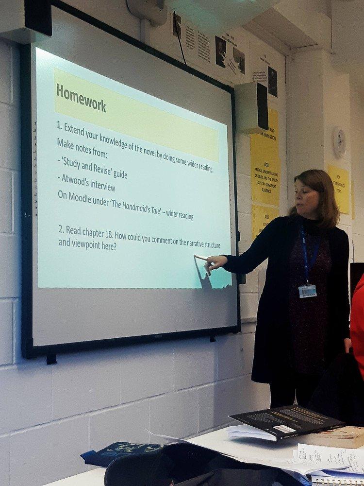 Vyucovanie na Bexhill College