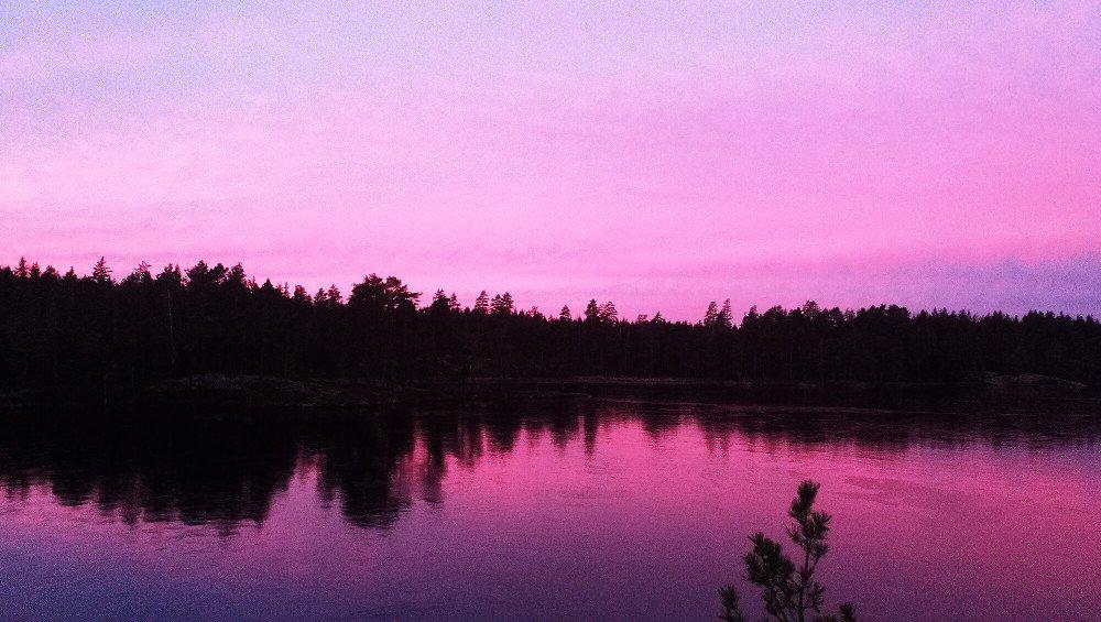 Sumrak nad jazerom