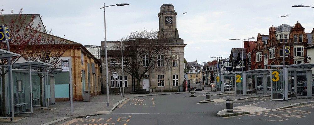 Aberystwyth centre, UK