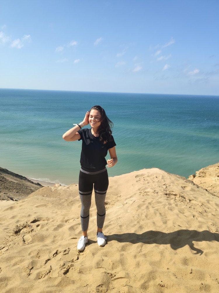 Spokojná Laura, štúdium v Dánsku