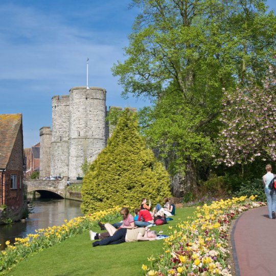 Štúdium v Anglicku, Canterbury