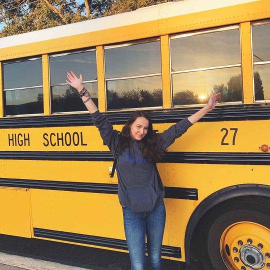 Moje začiatky na strednej škole v Kalifornii