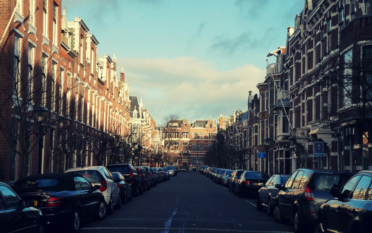Štúdium v Holandsku, ulica v Haagu