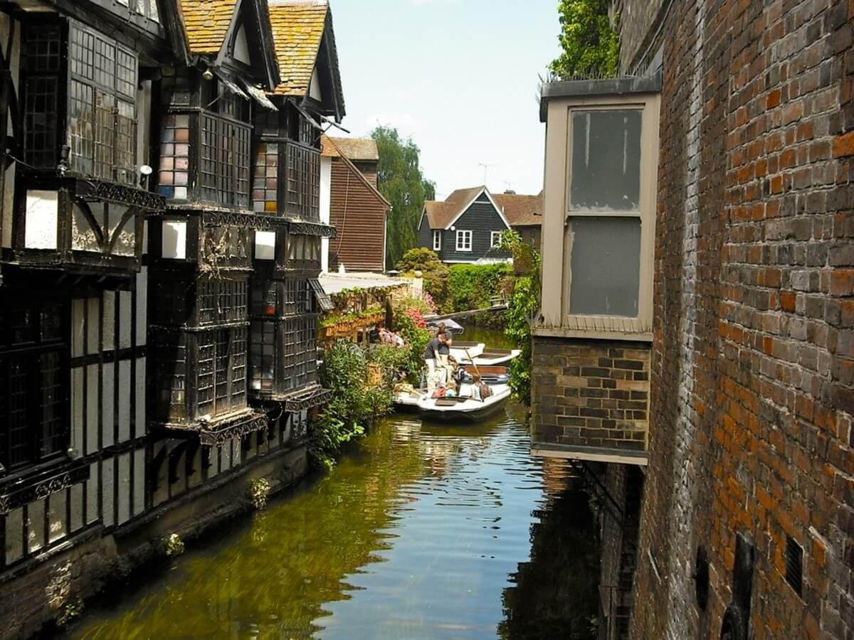 Štúdium v Anglicku, Canterbury: anglické Benátky