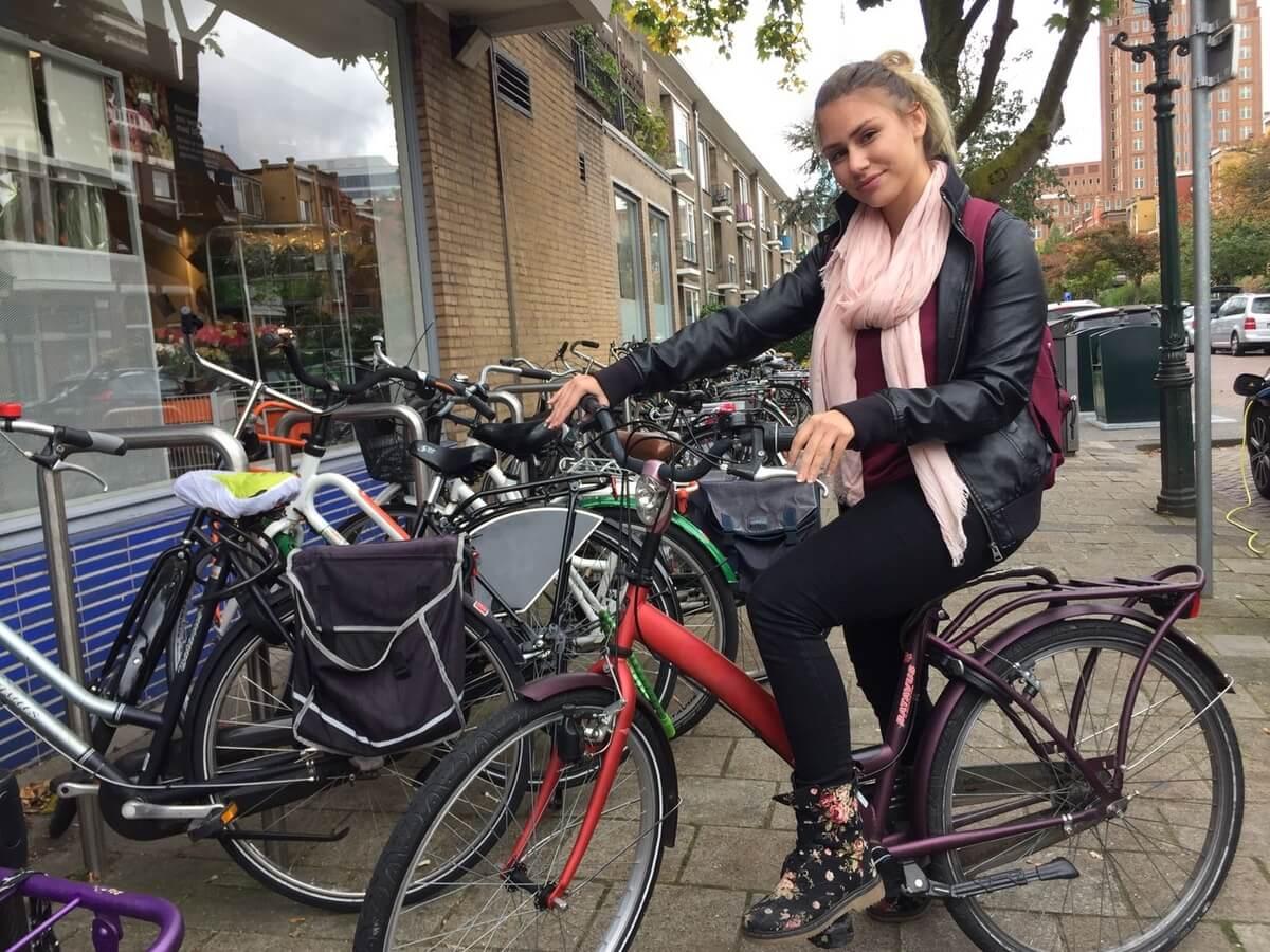 Štúdium v Holandsku, Úvodný týždeň a výber bickyla