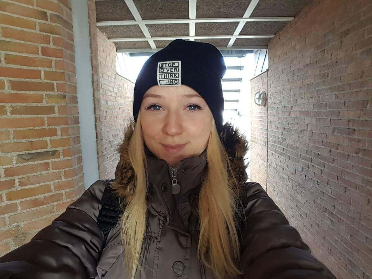 Štúdium v Dánsku, Sabina si hľadá prácu