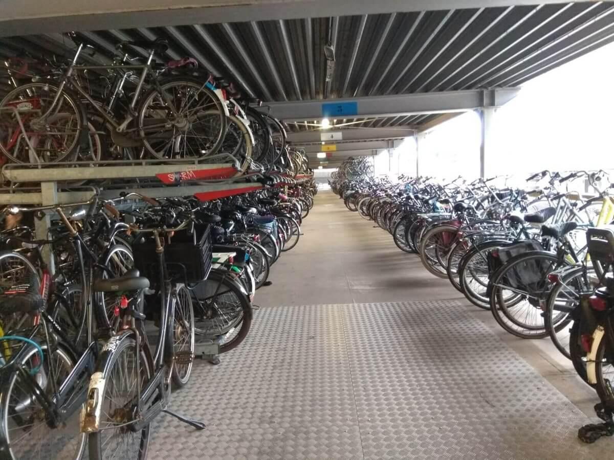 Štúdium v Holandsku, život na bicykli
