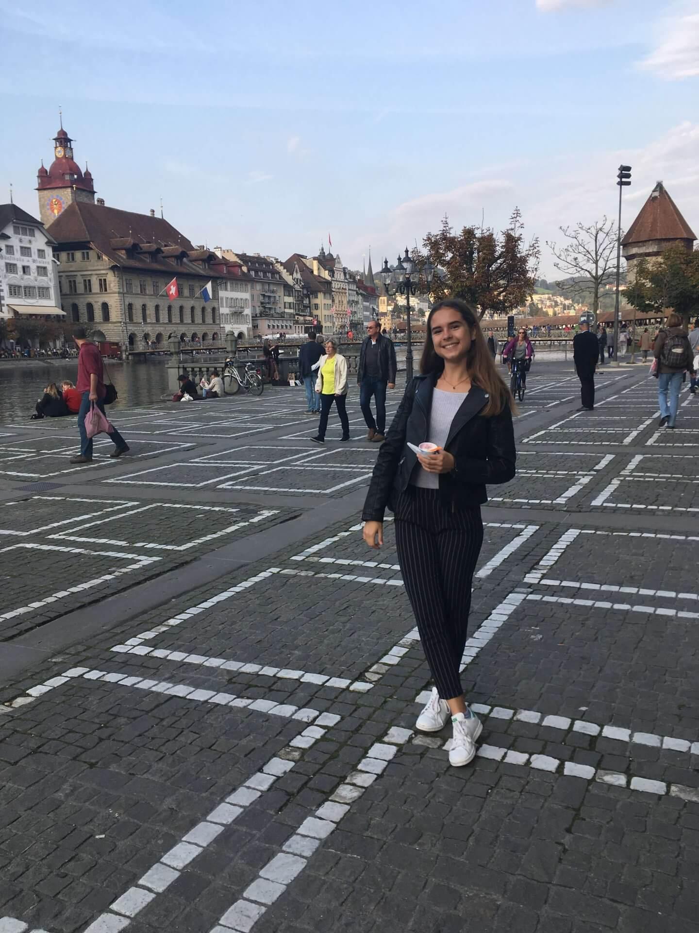 Výmenný pobyt vo Švajčiarsku, Katka