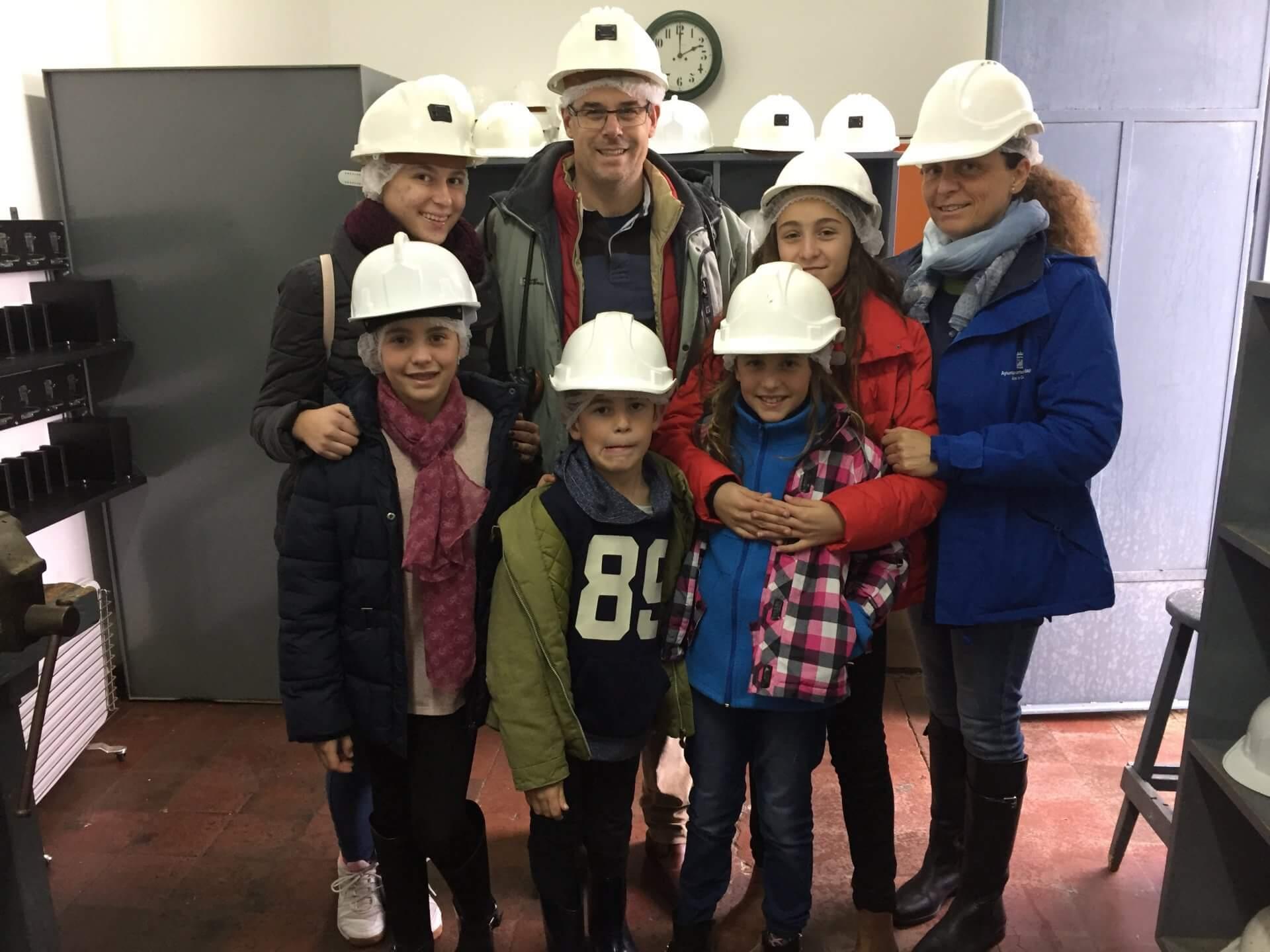 Stredná škola v španielsku, Lucia a jej pridelená rodina