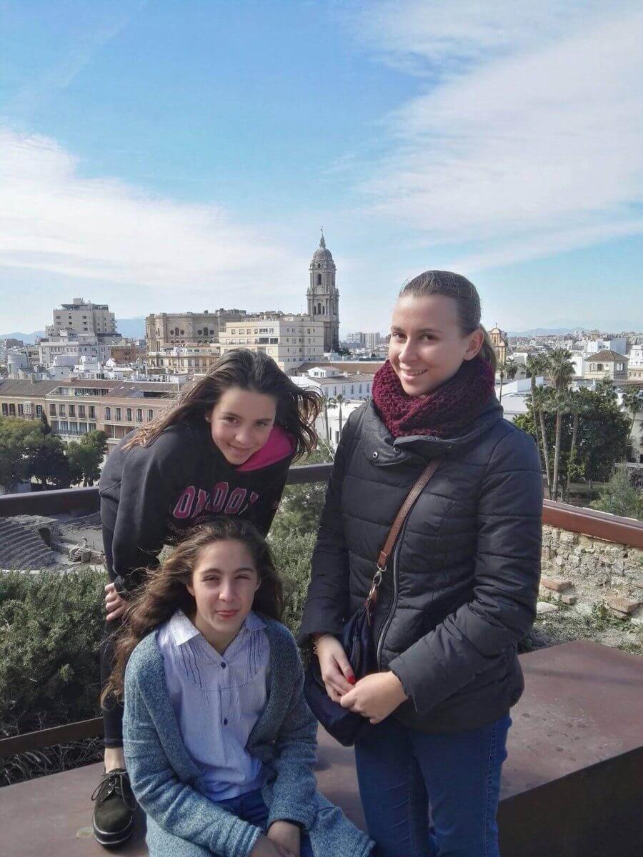 Výmenný pobyt, stredná škola, lucia a deti