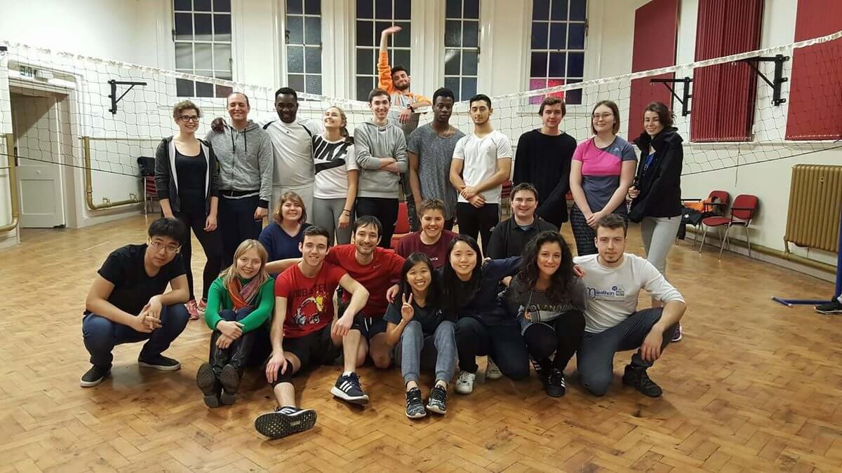 Štúdium na vysokej škole v zahraničí: Anglicko, Canterbury, volejbal