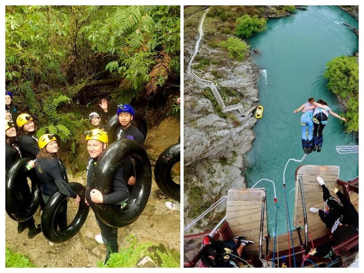 Nový Zéland, bungee jumping