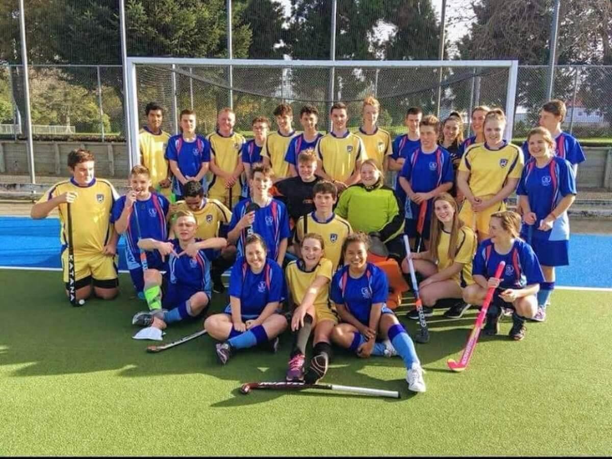 Stredoškolský pobyt, Nový Zéland, školský športový tím
