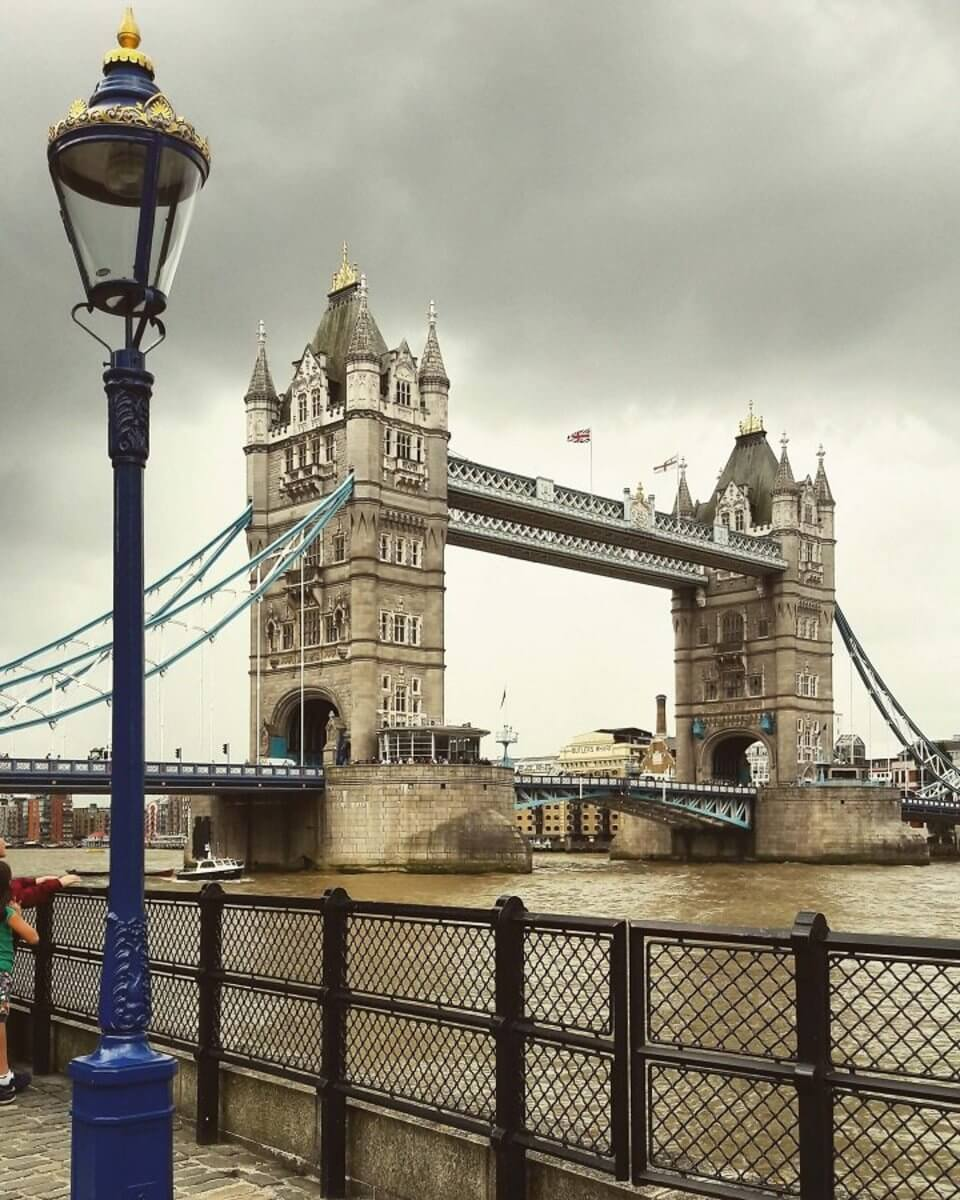 Jazykovy pobyt blizko Londyna, Tower Bridge