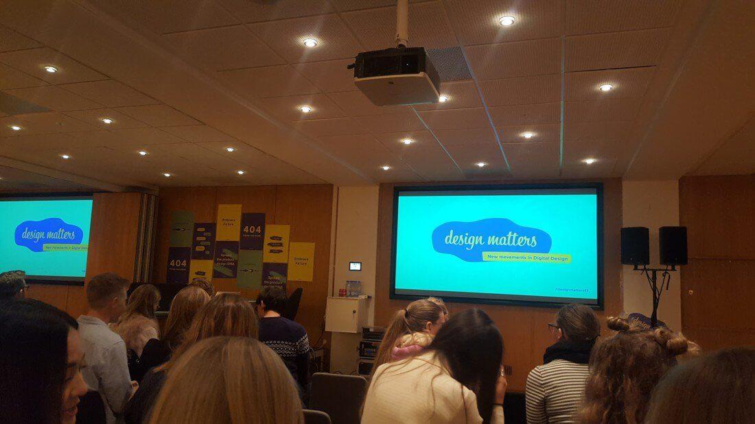 Prednáška o dizajne v KEA University