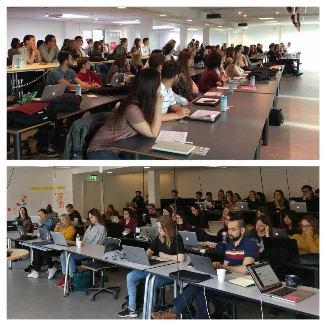 Predtým a potom, univerzita: Dánsko