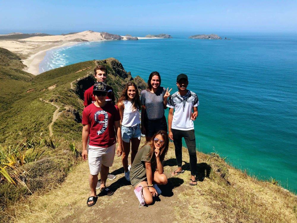 Stredna skola v zahranici moze znamenat aj Novy Zeland