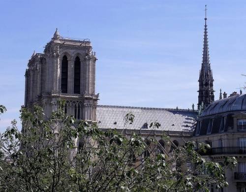 France Langue Paris Notre Dame