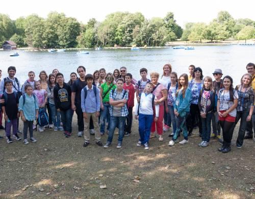 St. Giles Londýn Rodinný program (dospelý + dieťa 7-15 rokov)