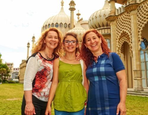 St. Giles Brighton Rodinný program (dospelý + dieťa 7-15 rokov)